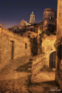 Domo at Night Matera Italy