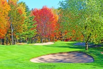Woodside Course 16th Hole  Hillsdale Golf & CC, Montreal Canada