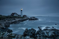 Portland Head Lighthouse at Night, Portland Maine
