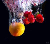 Fruit Falling. Displayed Summer of 2015 at The louvre,  Paris